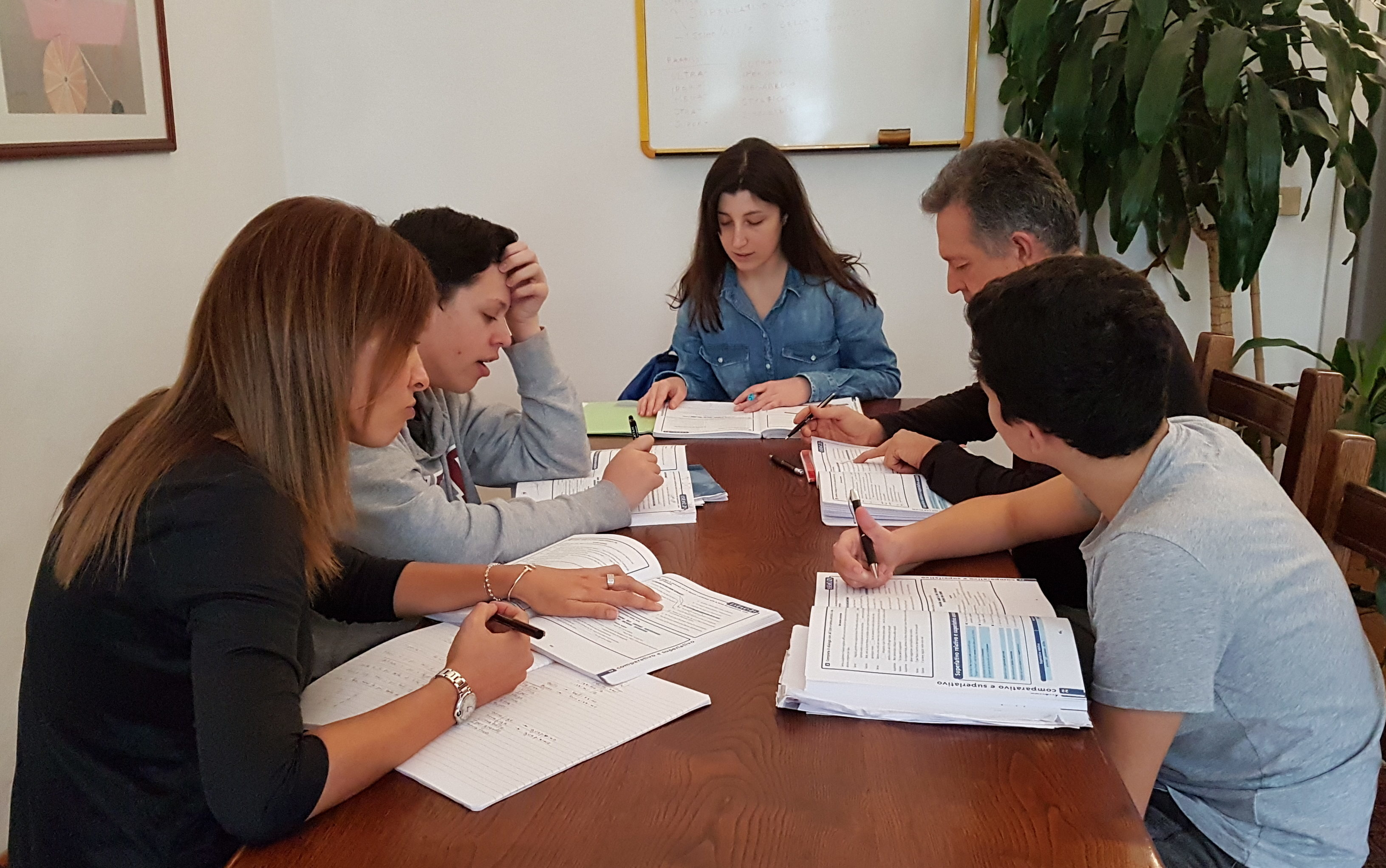 Italian courses in small groups